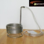 Super Efficient 3/8″ x 25′ Stainless Steel Wort Chiller